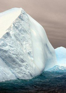 Iceberg - don't hit the cold hard truth (courtesy *christopher* on Flickr CC)