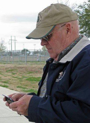 Sure, boomers can master texting and smartphones (photo by Sheila Scarborough)