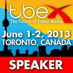 TBEX Toronto 2013 Speaker badge
