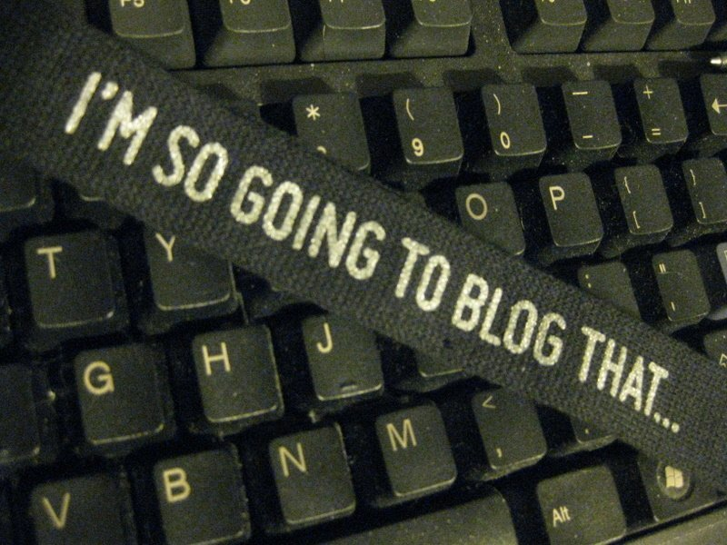 What's the difference between a writer and a blogger?